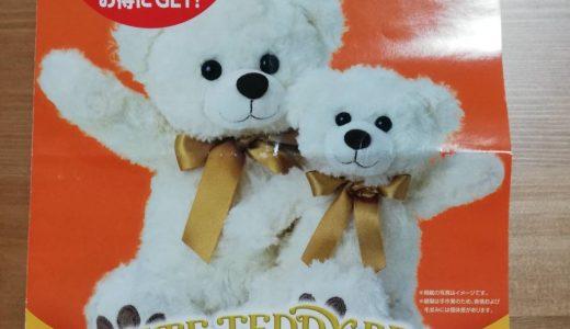 クマ好きにはたまらない ホワイトテディベアを安く買う方法